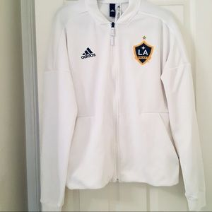 adidas Tops - LA GALAXY WHITE ZIP UP